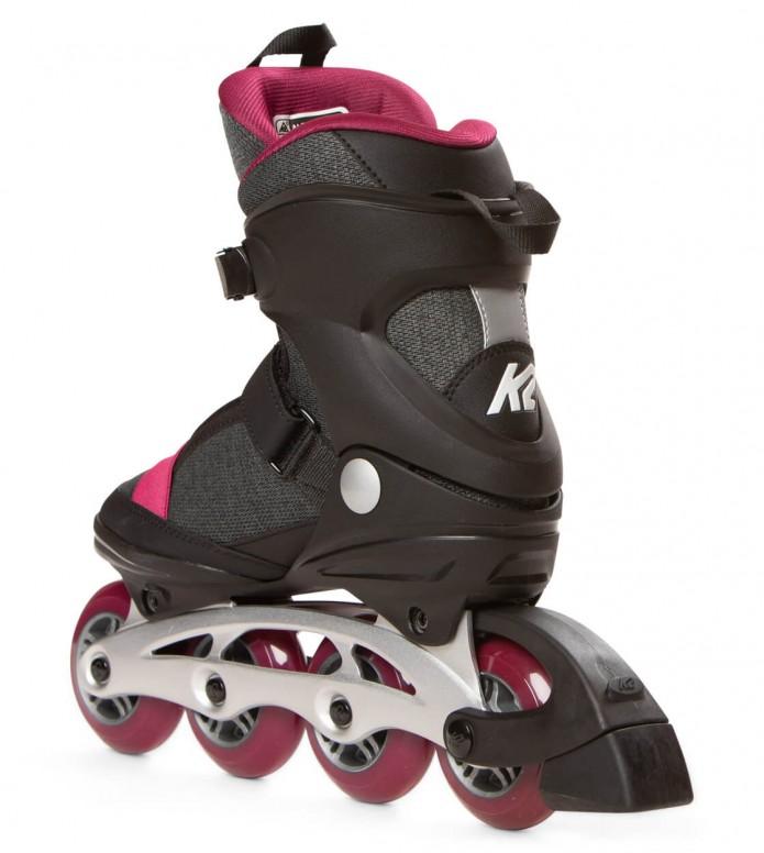 K2 K2 W Alexis Alu black/grey/pink