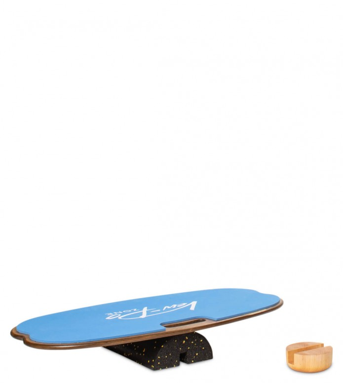 Vew-Do Vew-Do Balanceboard Zone Fitness blue royal tan