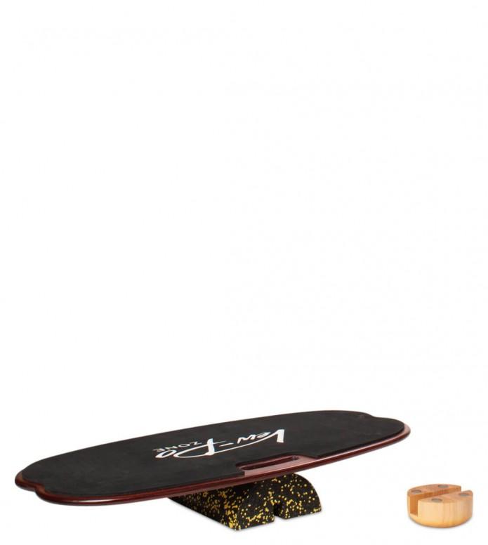 Vew-Do Vew-Do Balanceboard Zone Fitness black mahogany