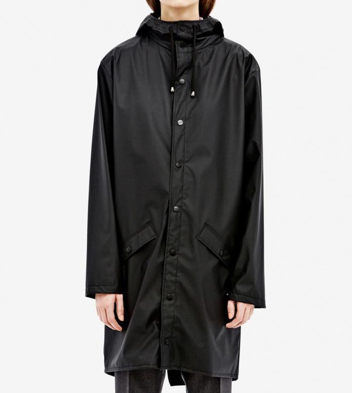Rains Rains Rainjacket Long black