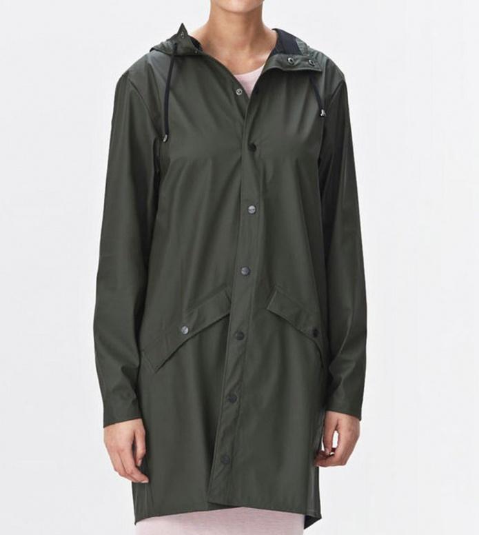 Rains Rains Rainjacket Long green