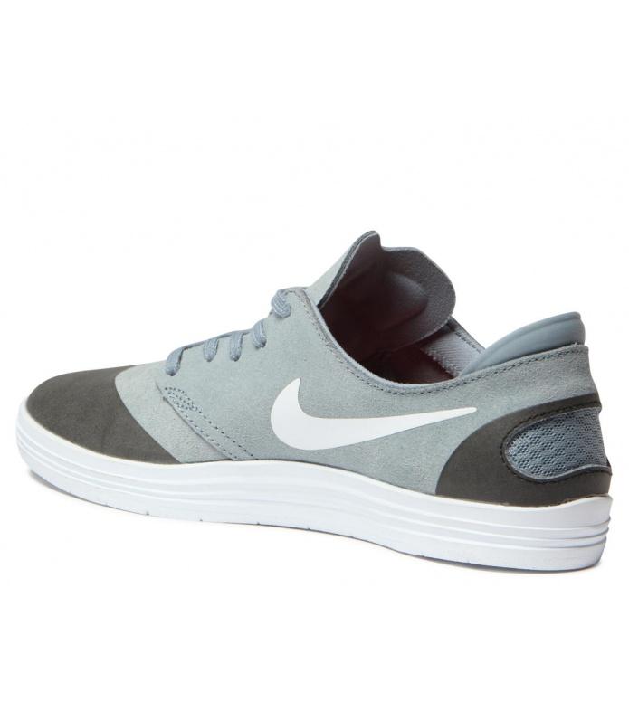 Nike SB Nike SB Shoes Lunar Oneshot grey magnet/white-black