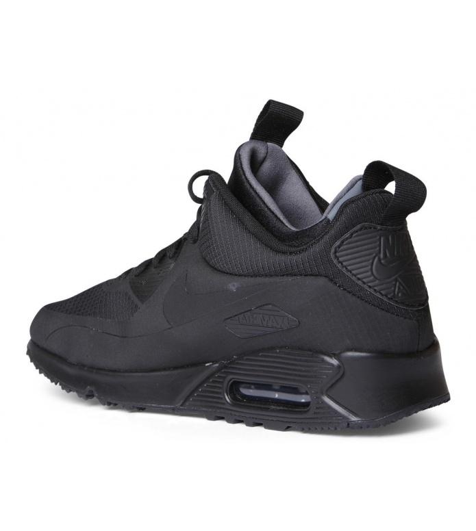 Nike Nike Shoes Air Max 90 Mid WNTR black/black