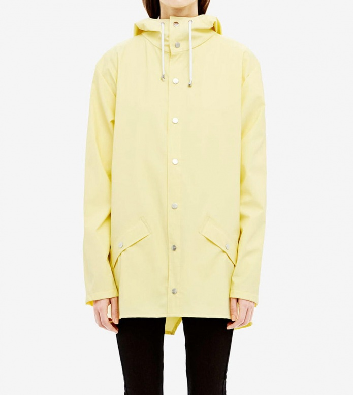 Rains Rains Rainjacket Short yellow wax