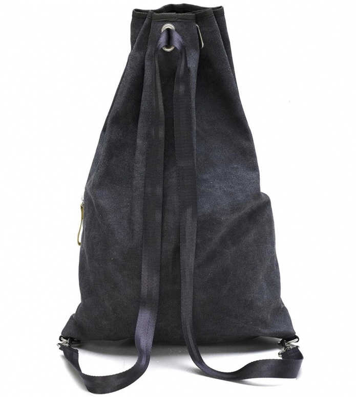 Qwstion Qwstion Gymbag Simple Bag washed black