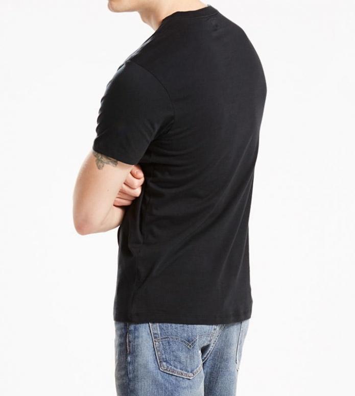 Levis Levis T-Shirt Setin Sunset Pocket black