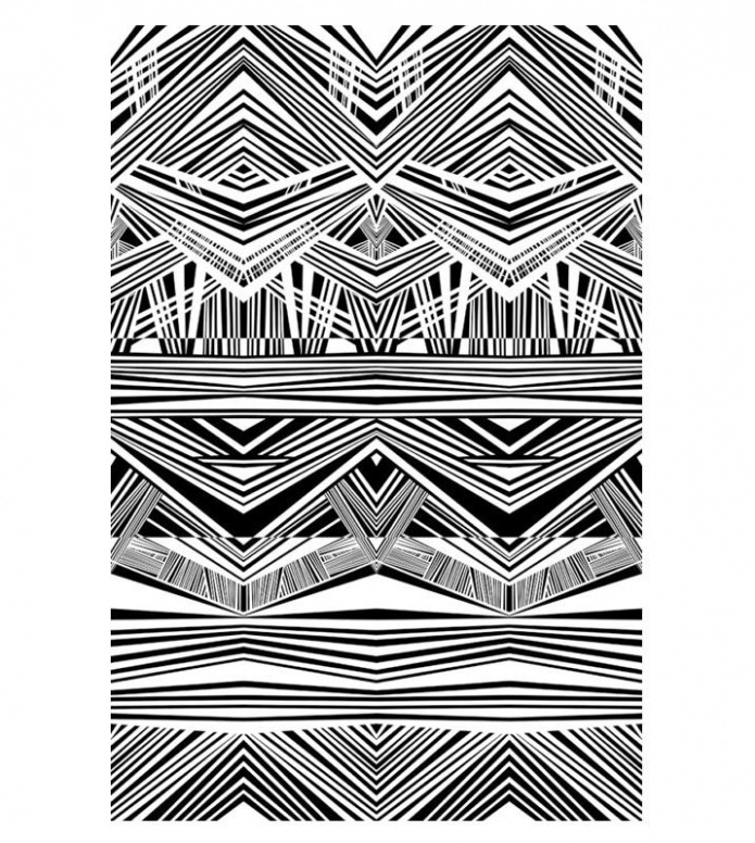 Schoenstaub Schoenstaub Towel Tiki white