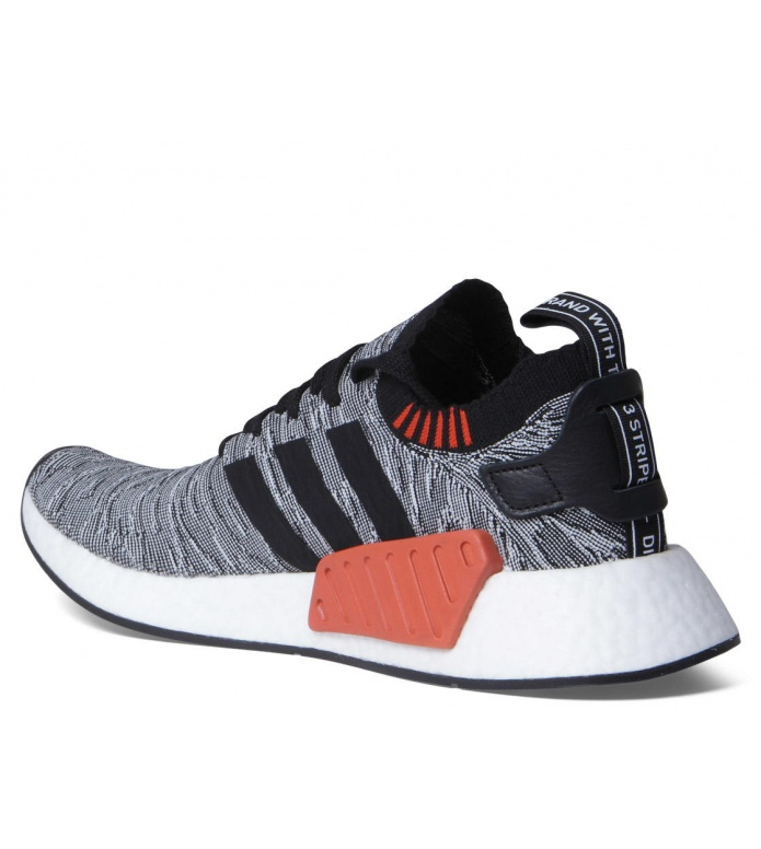 adidas Originals Adidas Shoes NMD R2 Primeknit grey/core black/footwear white