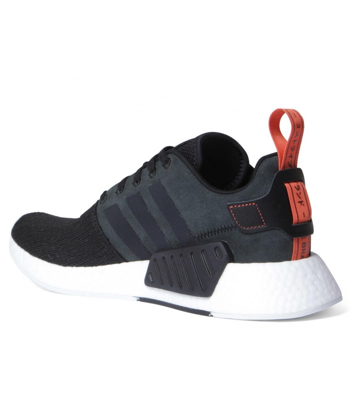 adidas Originals Adidas Shoes NMD R2 black core/core black/future harvest