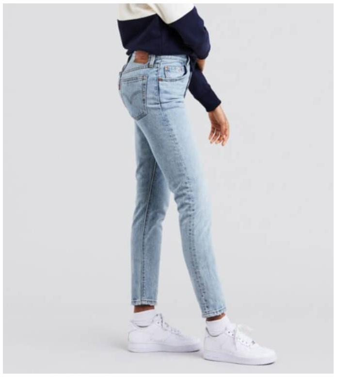 Levis Levis W Jeans 501 Skinny blue lovefool
