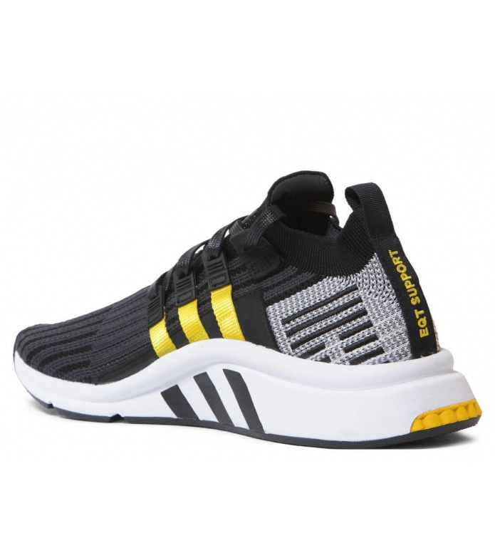 adidas Originals Adidas Shoes EQT Support Mid ADV PK grey core black/eqt yellow/footwear white