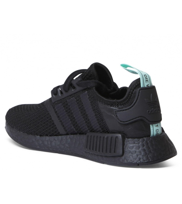 adidas Originals Adidas W Shoes NMD R1 black core/core black-clear mint
