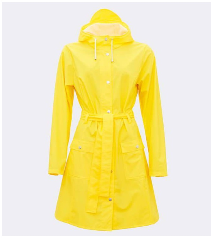 Rains Rains Rainjacket Curve yellow