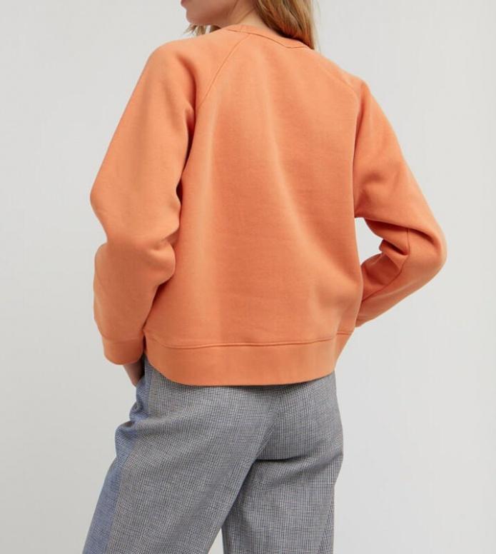 Wood Wood Wood Wood W Sweater Jerri orange dusty