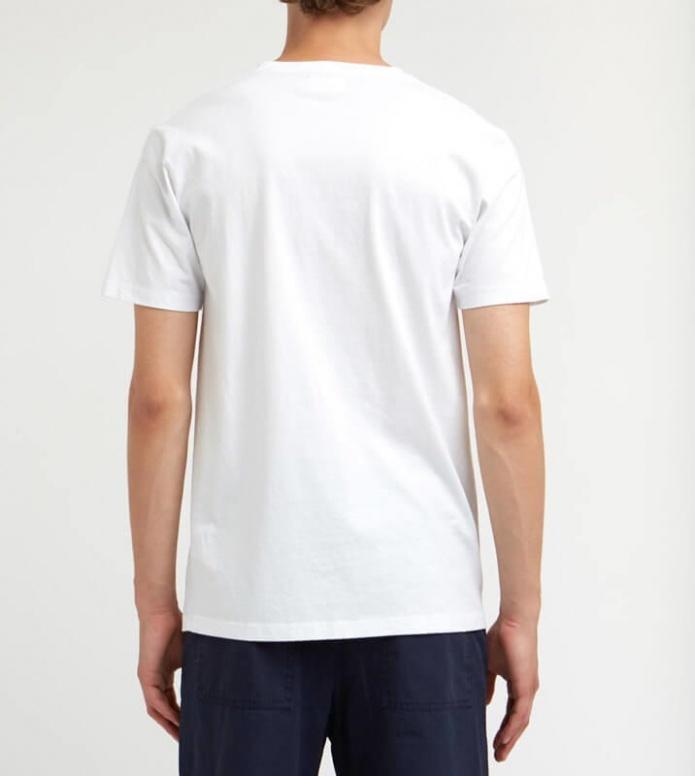 Wood Wood Wood Wood T-Shirt Away white bright