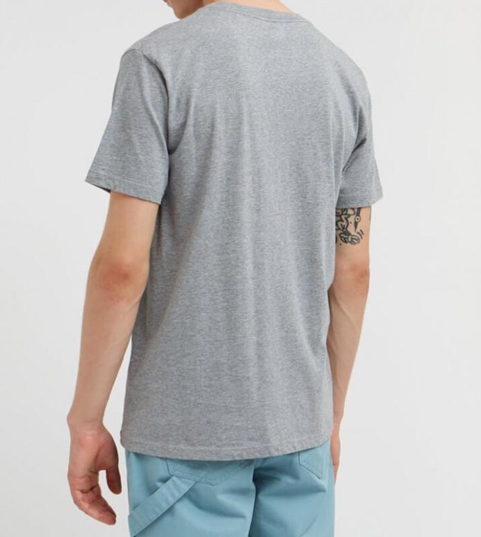 Wood Wood Wood Wood T-Shirt GGG grey melange