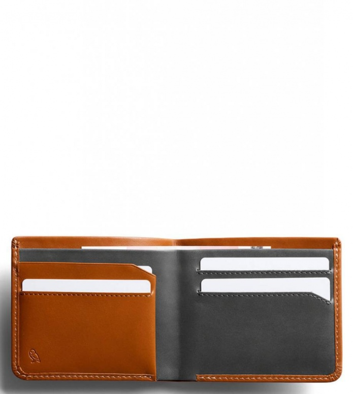 Bellroy Bellroy Wallet The Square brown caramel