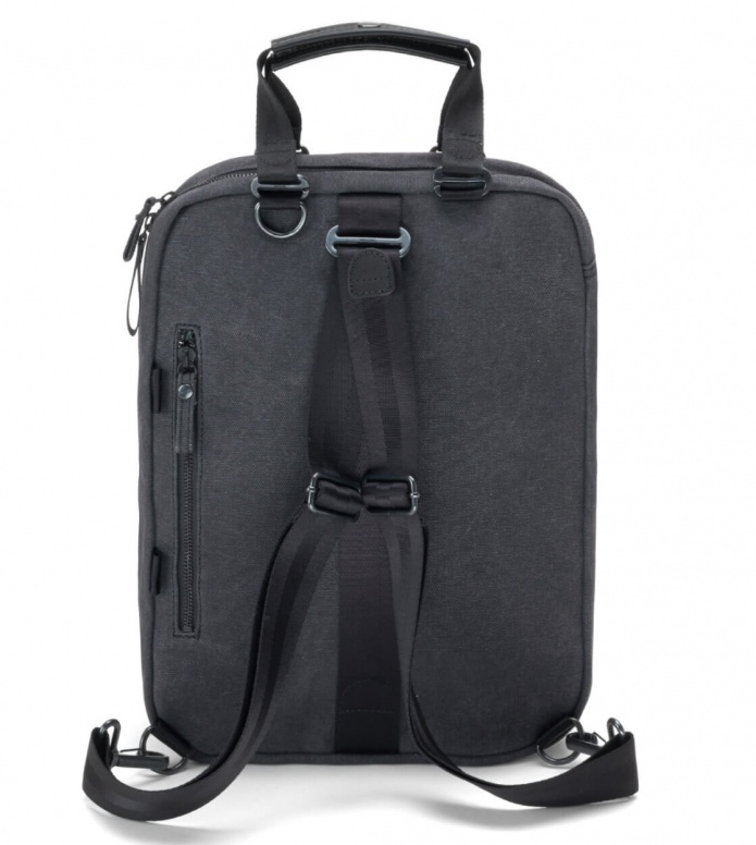 Qwstion Qwstion Bag Office Pack graphite leather