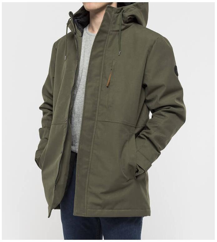 Revolution (RVLT) Revolution Winterjacket 7583 green army