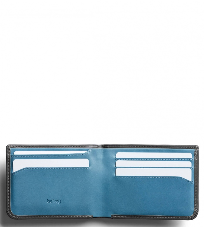 Bellroy Bellroy Wallet Hide & Seek LO RFID grey charcoal