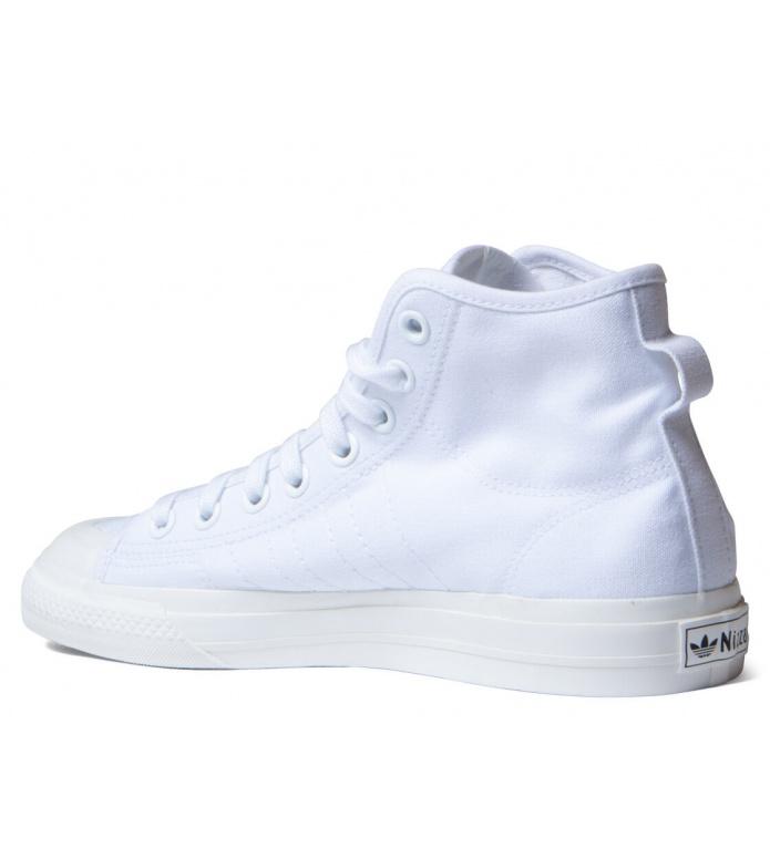 adidas Originals Adidas Shoes Nizza HI RF white cloud/cloud white/off white