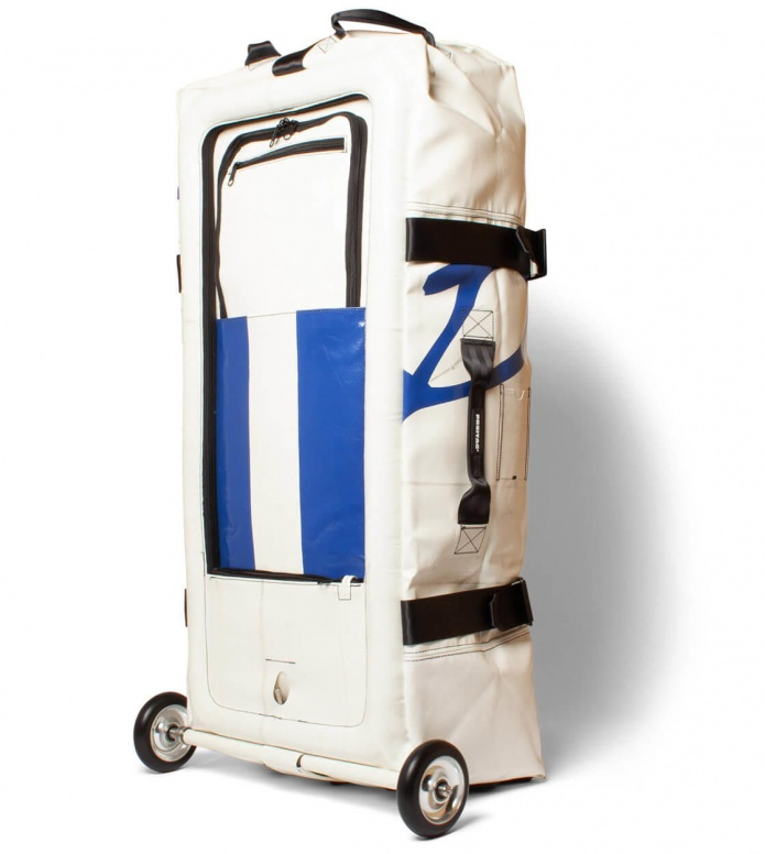 Freitag Freitag Travel Suitcase Zippelin white/blue