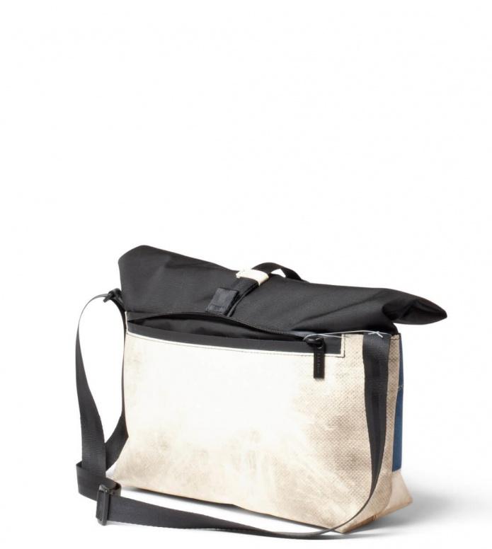 Freitag Freitag ToP Bag Rollin black/white/blue