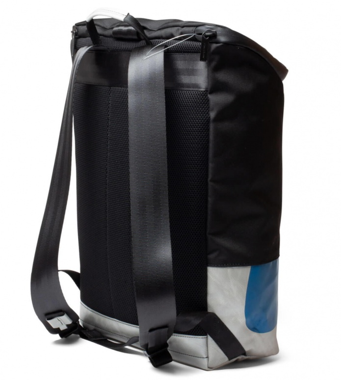 Freitag Freitag ToP Backpack Carter black/silver/blue