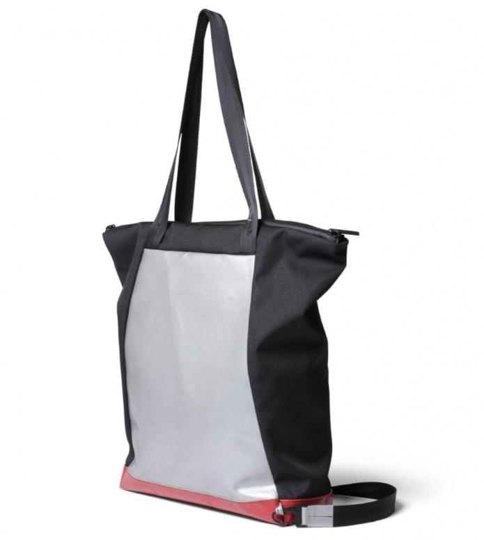 Freitag Freitag ToP Tote Bag Davian silver/red