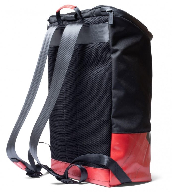 Freitag Freitag ToP Backpack Carter black/red/black