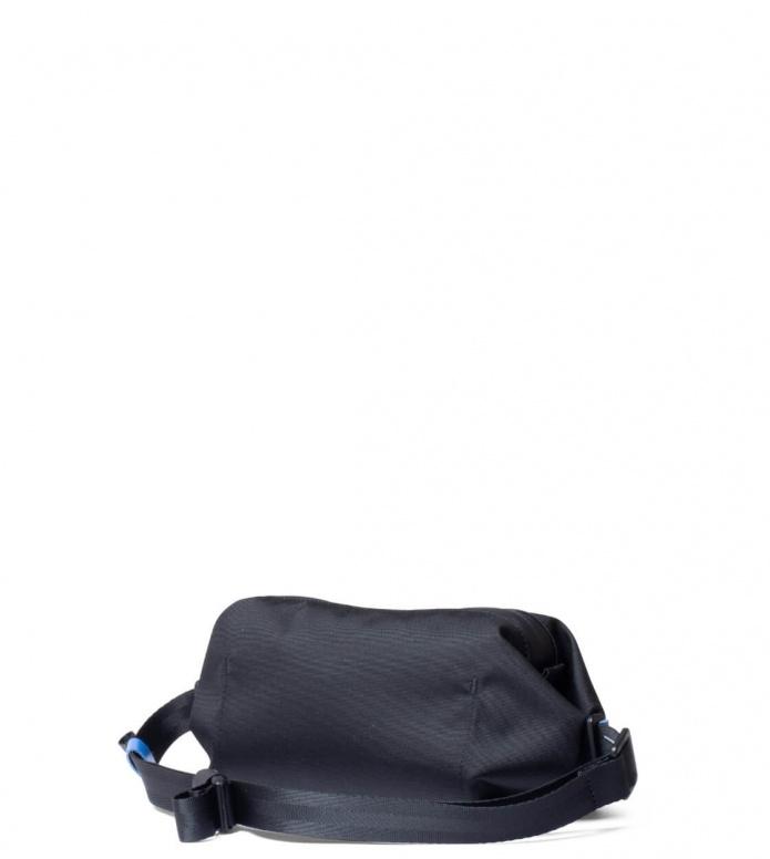 Freitag Freitag ToP Hip Bag Phelps black/white/blue