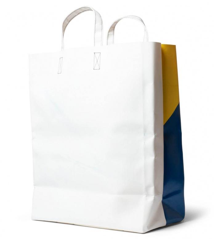 Freitag Freitag Bag Miami Vice white/blue/yellow