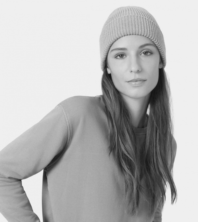 Colorful Standard Colorful Standard Beanie Merino Wool grey heather