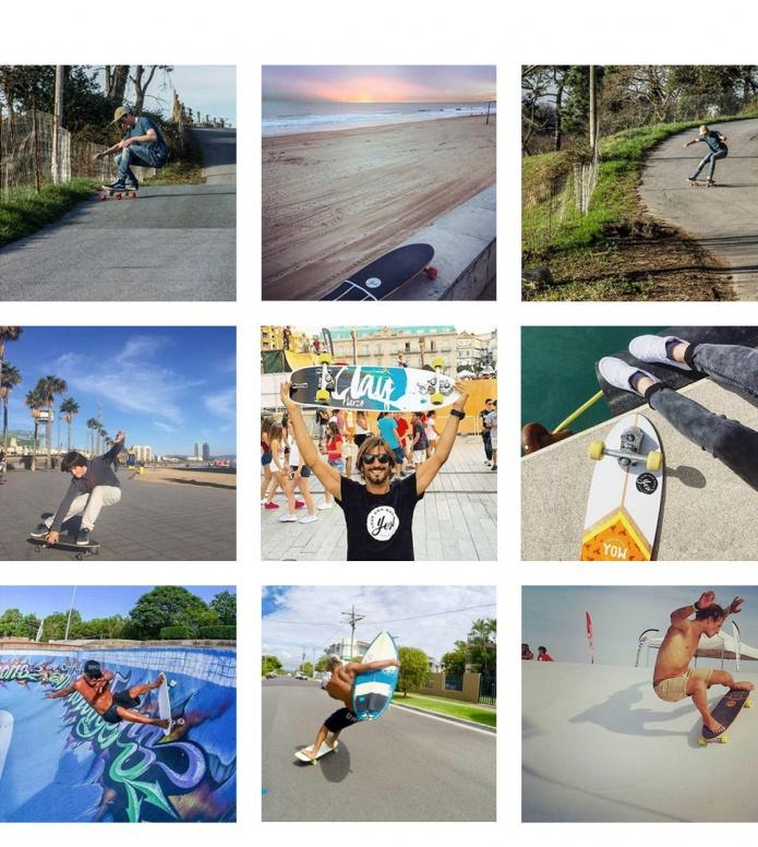YOW YOW Street-Surfing Cruiser Pipeline Street multi