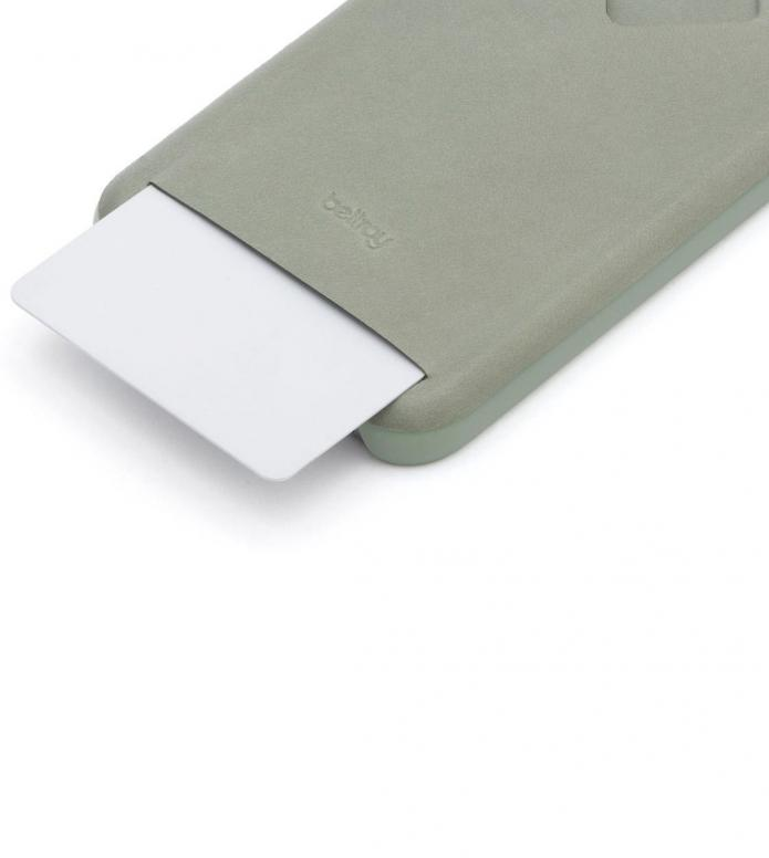 Bellroy Bellroy iPhone 7/8 Case 1 Card green eucalyptus