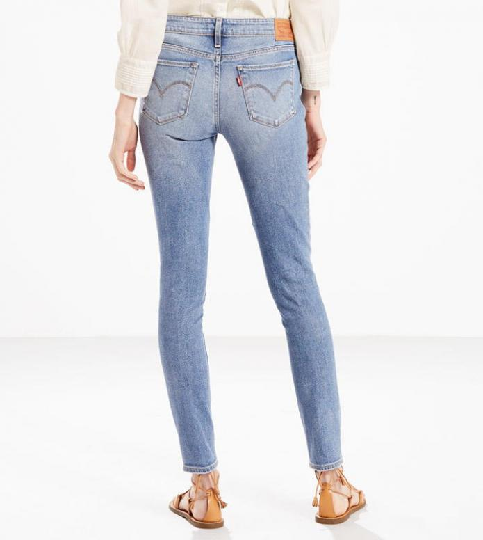 Levis Levis W Jeans 711 Skinny blue miles to go