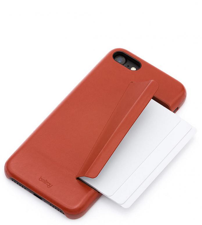 Bellroy Bellroy iPhone 7/8 Case 3 Card red tamarillo