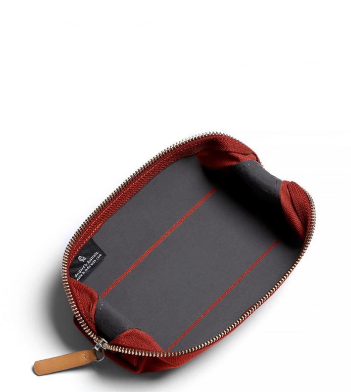 Bellroy Bellroy Pencil Case red ochre