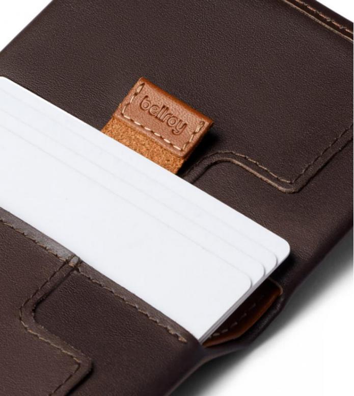 Bellroy Bellroy Wallet Slim Sleeve brown java caramel