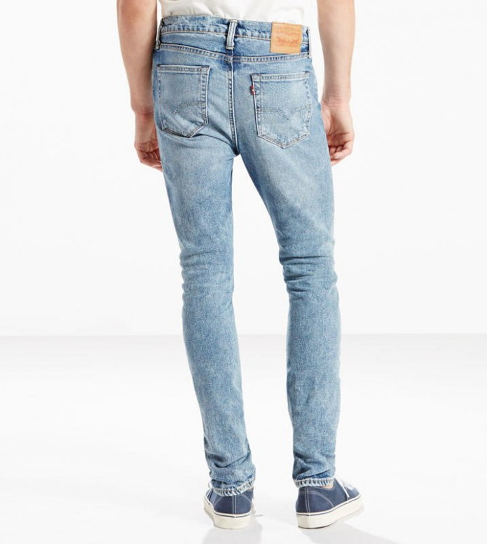 Levis Levis Jeans 510 Skinny Fit blue pinky
