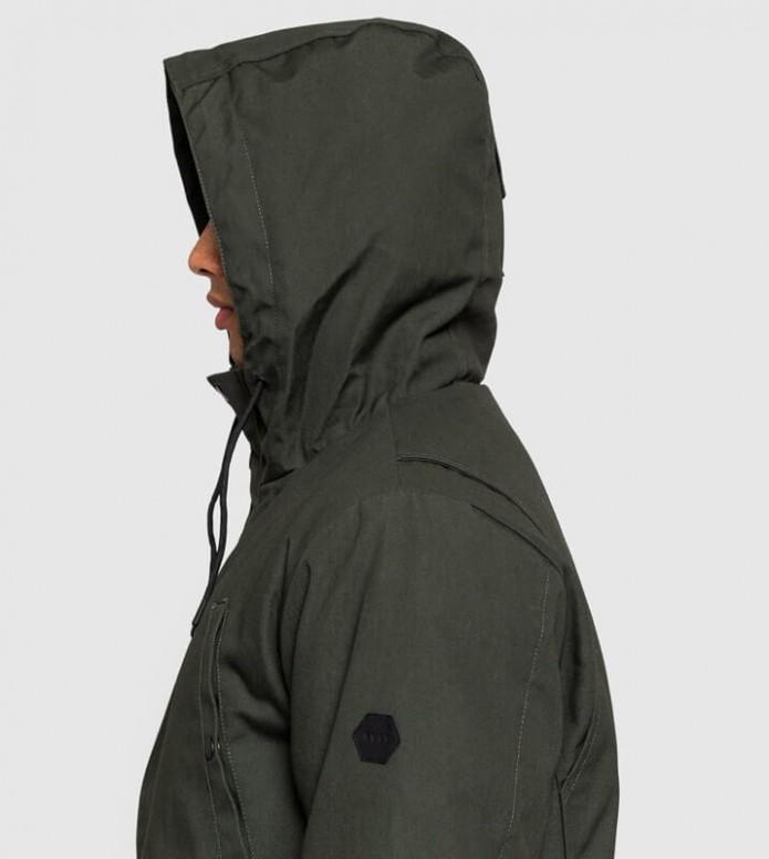 Revolution (RVLT) Revolution Winterjacket 7599 green army