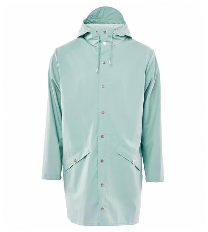 Rains Rains Rainjacket Long green dusty mint