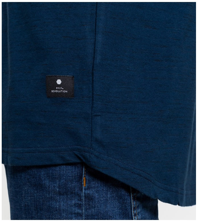 Revolution (RVLT) Revolution T-Shirt 1149 blue navy