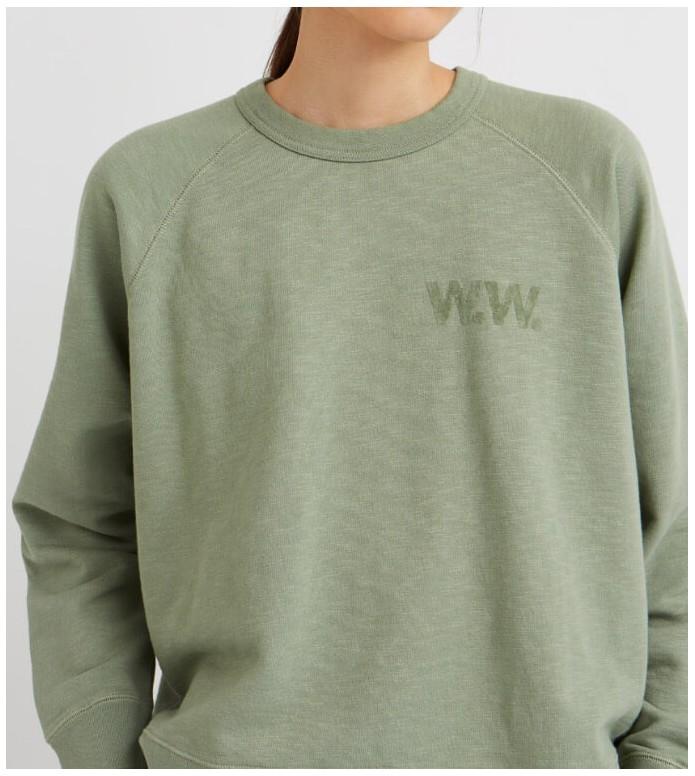 Wood Wood Wood Wood W Sweater Jerri green dusty