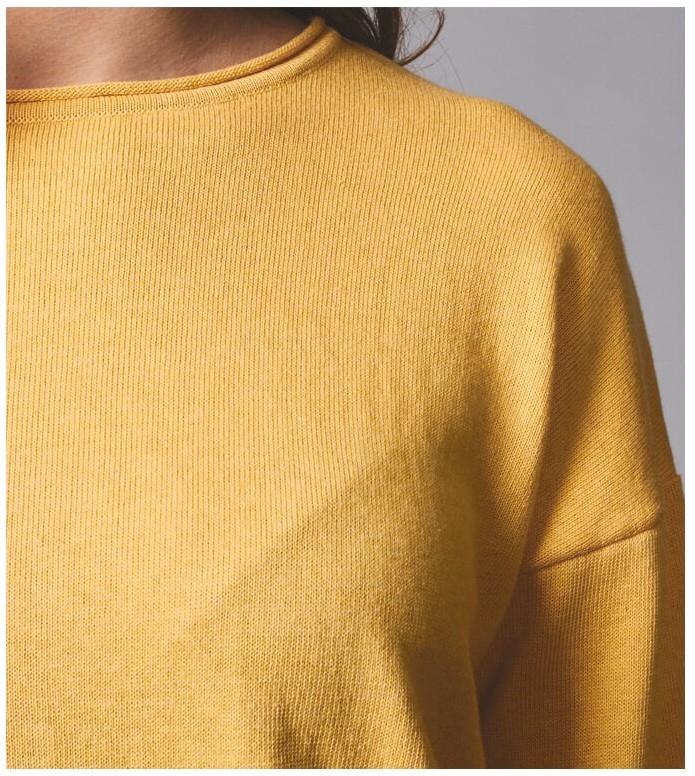 Klitmoller Collective Klitmoller W Knit Patricia yellow sun