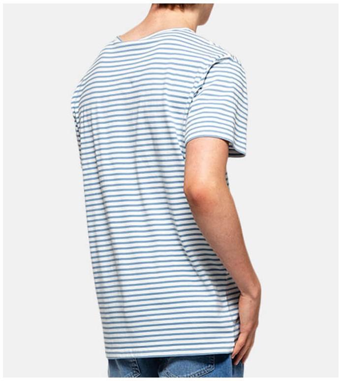 Revolution (RVLT) Revolution T-Shirt 1166 Smi white light blue