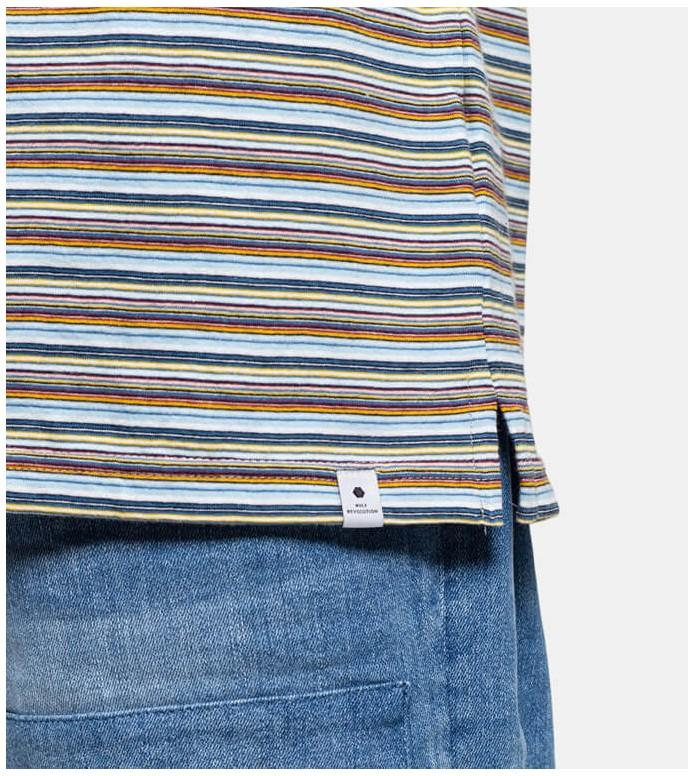 Revolution (RVLT) Revolution T-Shirt 1172 Stripe multi