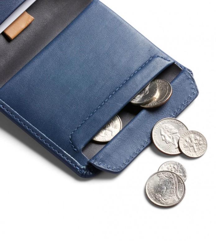 Bellroy Bellroy Wallet Coin blue marine