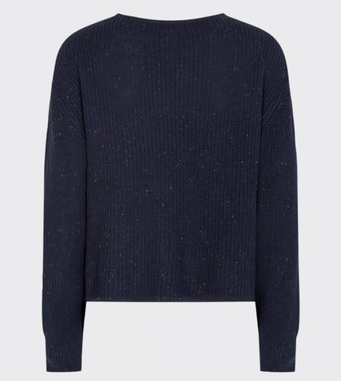 Minimum Minimum W Knit Valeri blue navy blazer