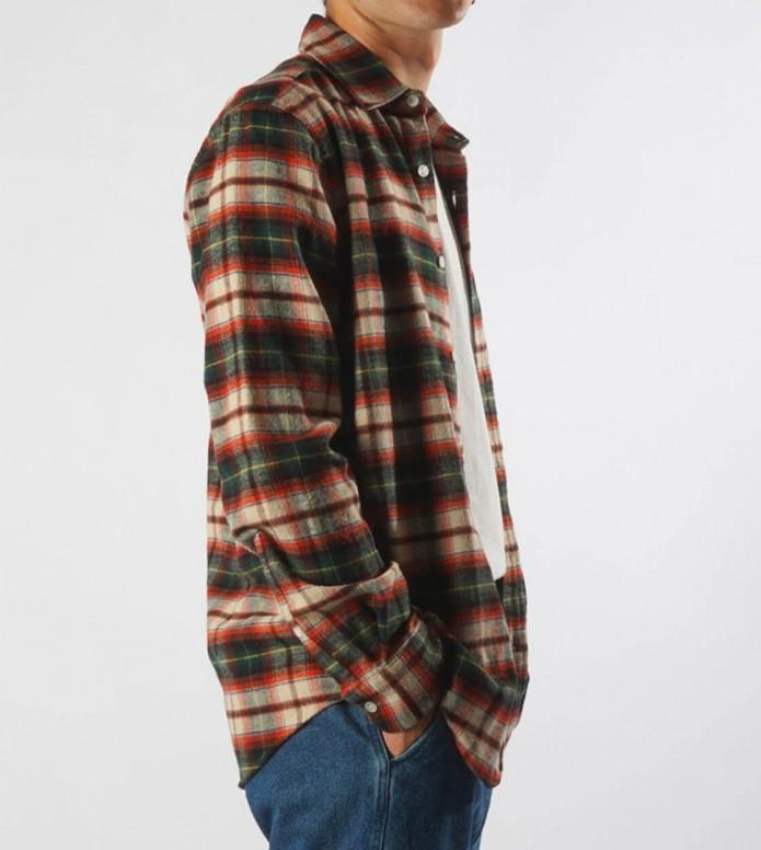 Portuguese Flannel Portuguese Flannel Shirt Rustic multi orange